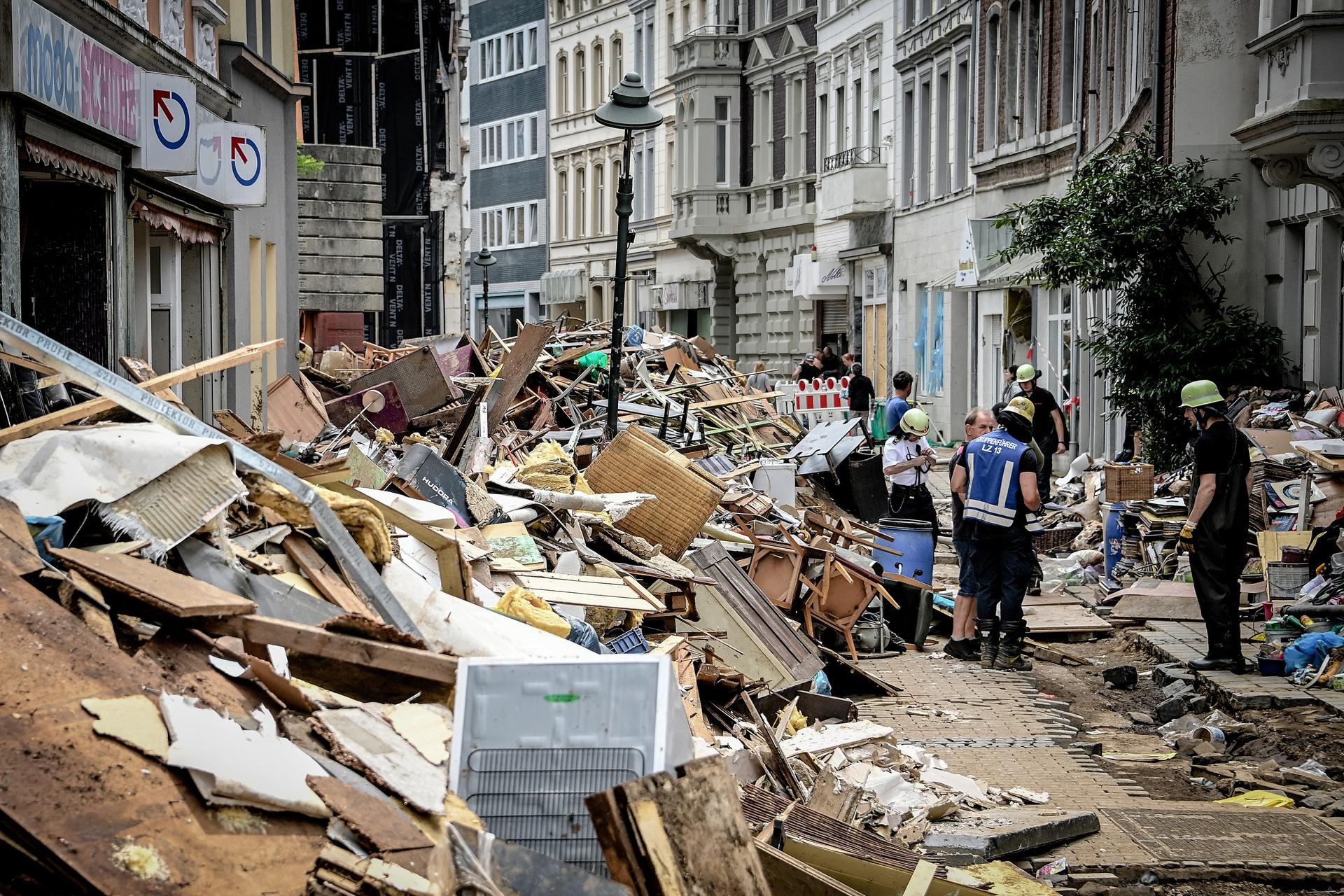פוטו שטפונות יולי 2021 גרמניה נזקים לרכוש