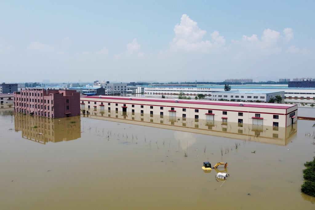 פוטו הצפות יולי 2021 קסינקסיאנד סין