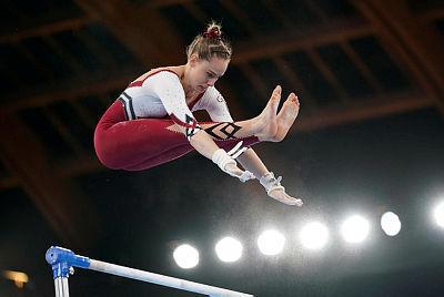 שרה ווס מתעמלת גרמניה באולימפיאדה בטוקיו, AP