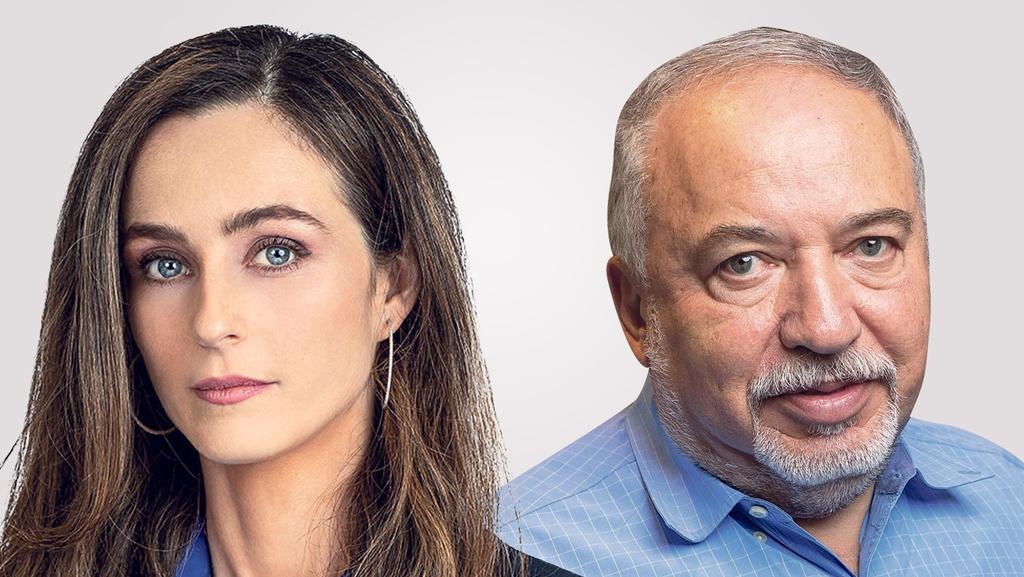 מימין שר האוצר אביגדור ליברמן והשרה לשוויון חברתי מירב כהן