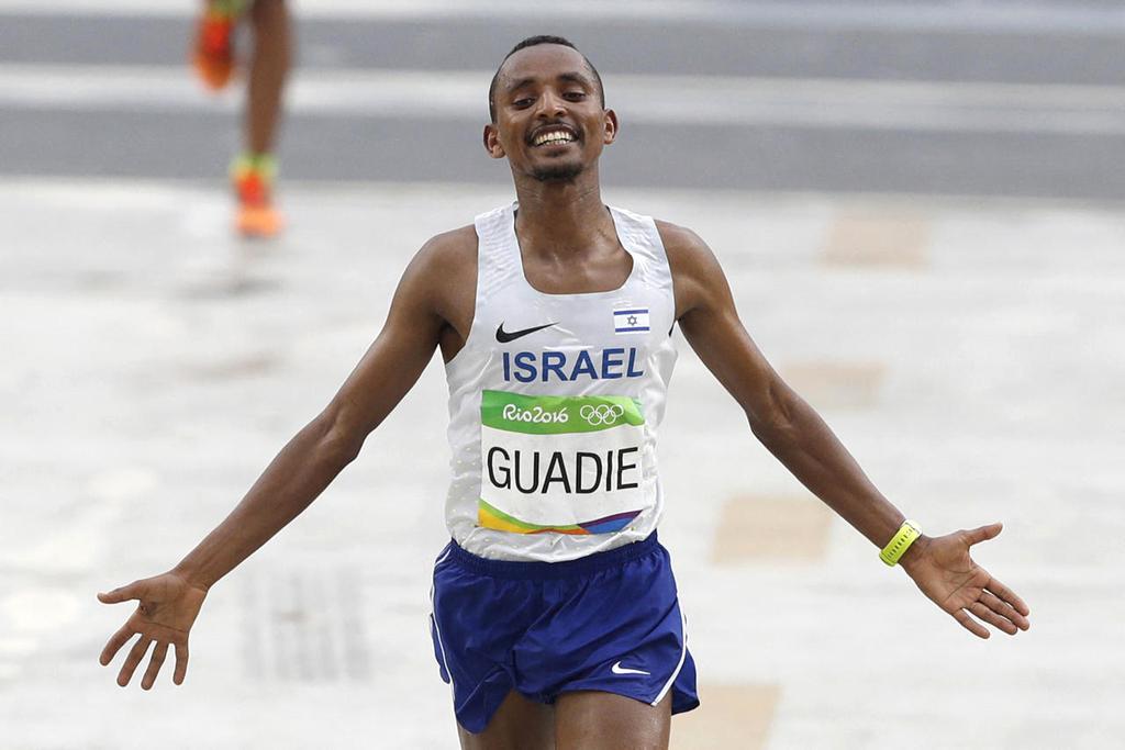 פנאי דניאל גואדי במרתון של אולימפיאדת ריו 2016