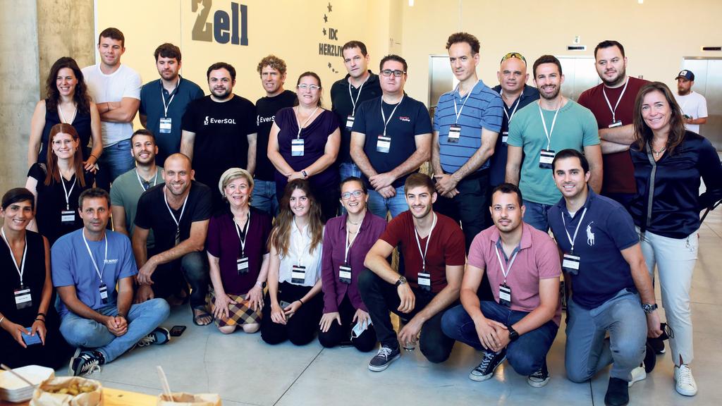 נציגי החברות שהגיעו לחצי הגמר בתחרות StartUp פלוס
