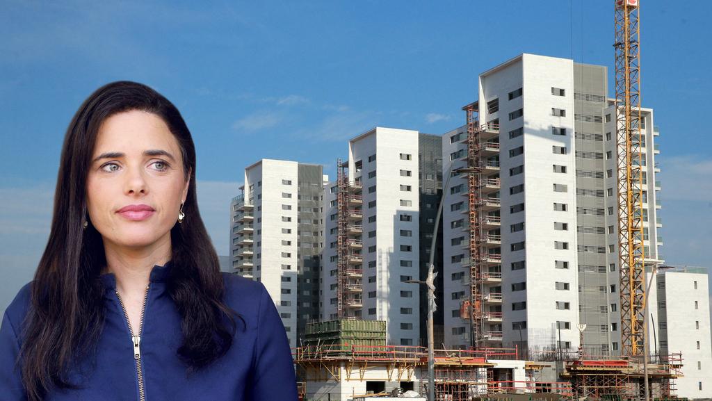 איילת שקד שרת הפנים בנייה נדל״ן, צילומים: קובי קואנקס, עמית שעל