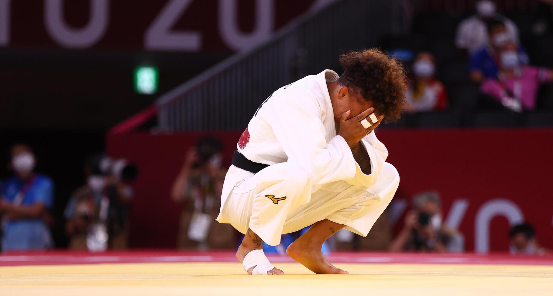 פוטו אוליפיאדה טוקיו מנצחים ומפסידים אמנדינה בוצ'ארד צרפת ג'ודו