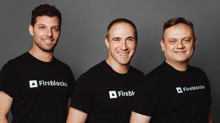 מייסדי פיירבלוקס Fireblocks מימין עידן עפרת מיכאל שאולוב פבל ברנגולץ, צילום: Yuliya Nar