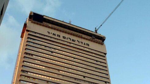 מגדל שלום בתל אביב, שבו נמצאים משרדי אי.בי.אי, צילום: ג