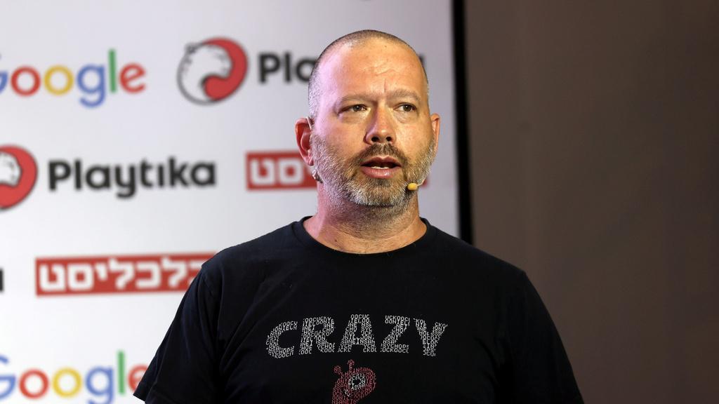 "שגיא שליסר, מייסד ומנכ""ל Crazylabs, צילום:יריב כץ"