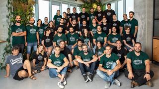 Coralogix team. Photo:: Hadas Peretz