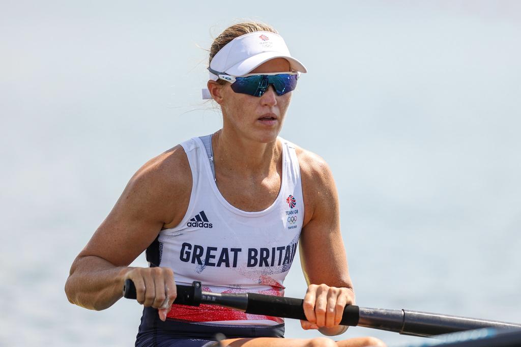 החותרת האולימפית הבריטית הלן גלובר טוקיו 2020
