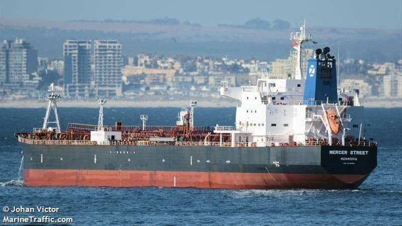 הספינה MERCER STREET שהפעילה חברה ישראלית של אייל עופר הותקפה ליד עומאן