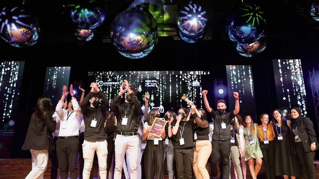 תחרות מיזם השנה 2021 של עמותת יוניסטרים מרכז יוניסטרים ג'וליס מקום ראשון שנה ב'