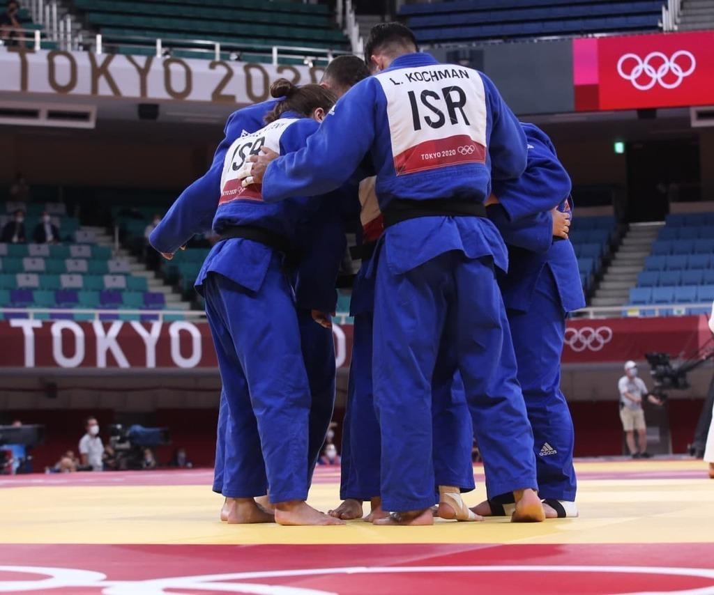 נבחרת ישראל ב ג'ודו ב אולימפיאדה טוקיו 2020