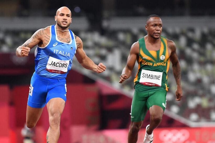 לאמונט ג'ייקובס 100 מטר אולימפיאדת טוקיו