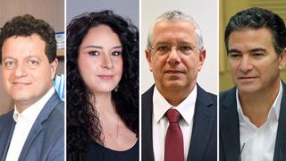 מימין יוסי כהן אמיר אשל דלית זילבר חאג' יחיא הוועידה הכלכלית,