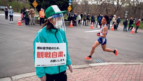 רחובות לוהטים במרוץ המרתון של אולימפיאדת טוקיו