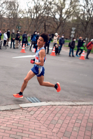 פנאי ריצת חצי המרתון ב סאפורו אולימפיאדת טוקיו