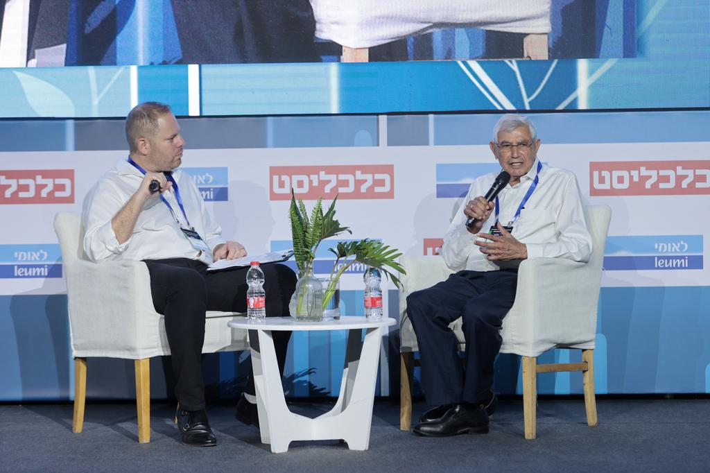 """הועידה הכלכלית הלאומית 2021 יוסי רוזן יו""""ר המכון הישראלי לאנרגיה ולסביבה בשיחה עם עמיר קורץ"""