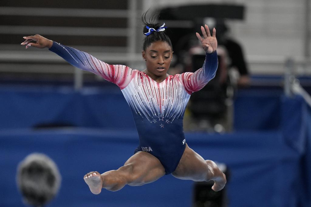 סימון ביילס תרגיל קורה אולימפיאדה טוקיו מדליית ארד
