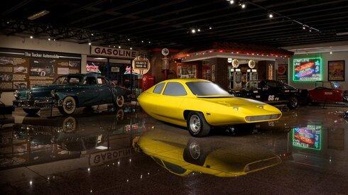 מכונית החלום שהתבררה כגרוטאה מוחלטת. דייל משנות ה-70 , צילום: מוזיאון SPEEDWAY