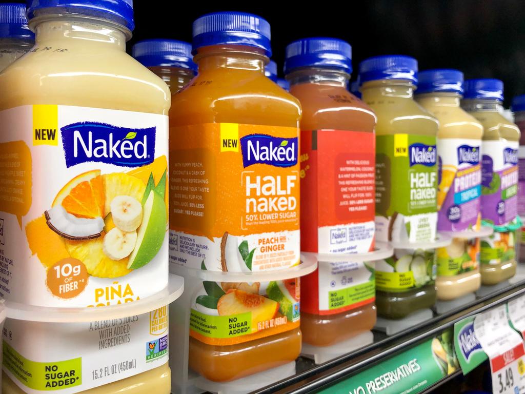 מותג המיצים האמריקאי נייקד ג'וסNaked Juice