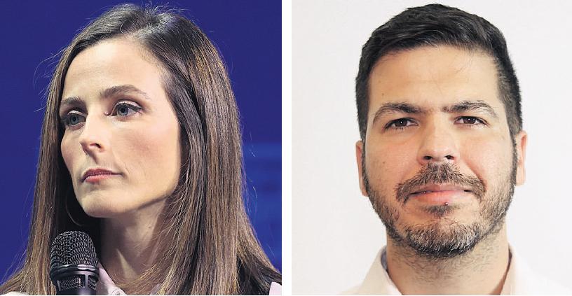 """מנכ""""ל הרשות לפיתוח כלכלי של המגזר הערבי חסן טואפרה והשרה לשוויון חברתי מירב כהן"""