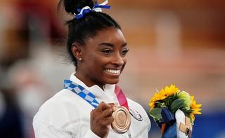 סימון ביילס מדליית ארד טוקיו 2020