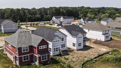 בתים חדשים למכירה בוודס,  אילינוי, צילום: אי.פי.אי