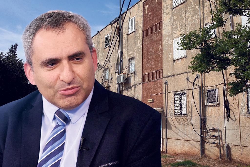 שר השיכון והבינוי זאב אלקין בנייני מגורים בתל אביב