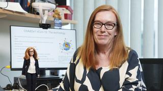 ברבי פרופ' שרה גילברט מפתחת חיסון קורונה אוניברסיטת אוקפורד, צילום: AP