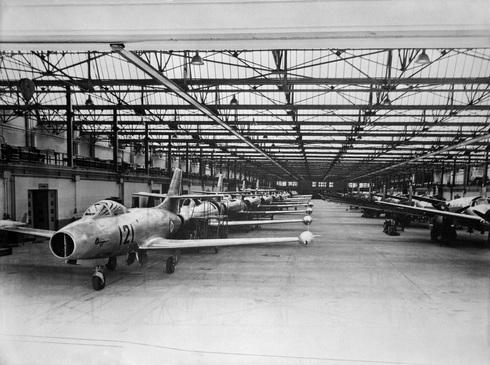 אורגאנים במפעל דאסו. מי קונה?, צילום: dassault aviation