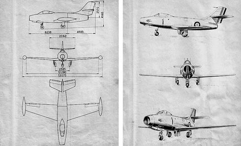 רישומי מטוס האוראגן, צילום: dassault aviation