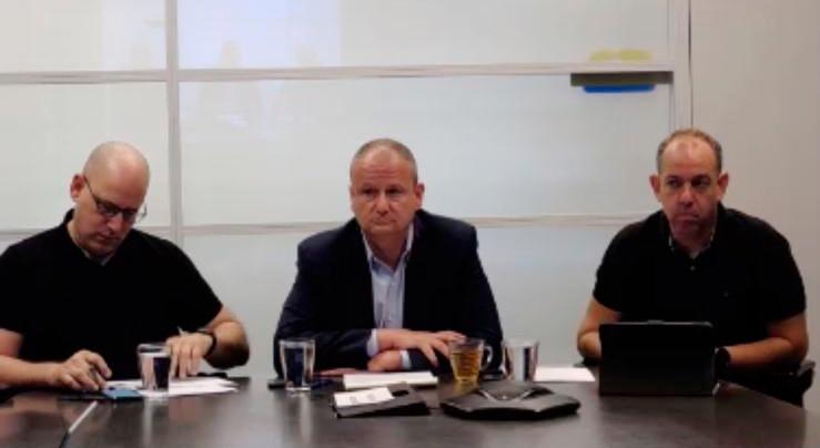 שיחת ועידה פרשמרקט פז הראל לוקר ניר שטרן