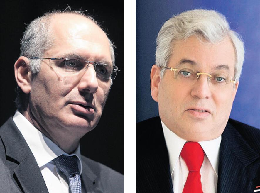 "מימין: אהרון פרנקל ו דורון כהן מנכ""ל דסק""ש"