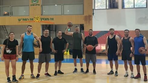SQLink basketball team Photo: SQLink
