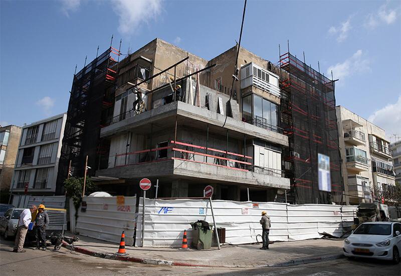 "פרויקט תמ""א 38 בתל אביב"