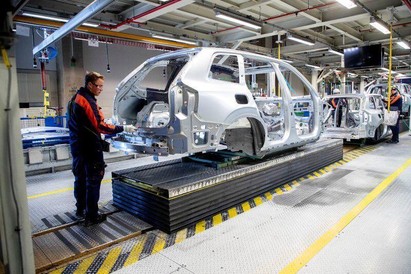 מפעל מכוניות וולוו גטנבורג שבדיה