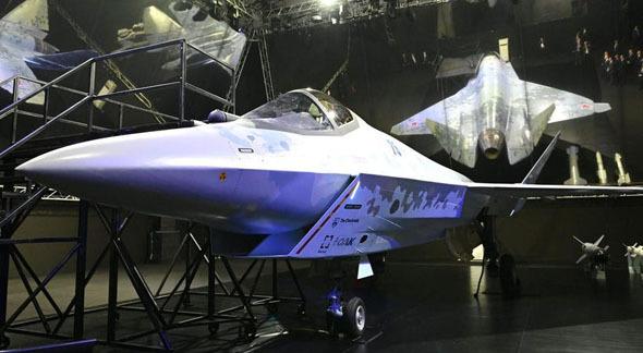 חמקן הקברניט סוחוי 75 שחמט מטוס קרב