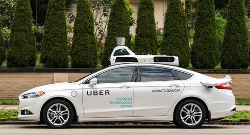 רכב אוטונומי אובר, צילום: אובר