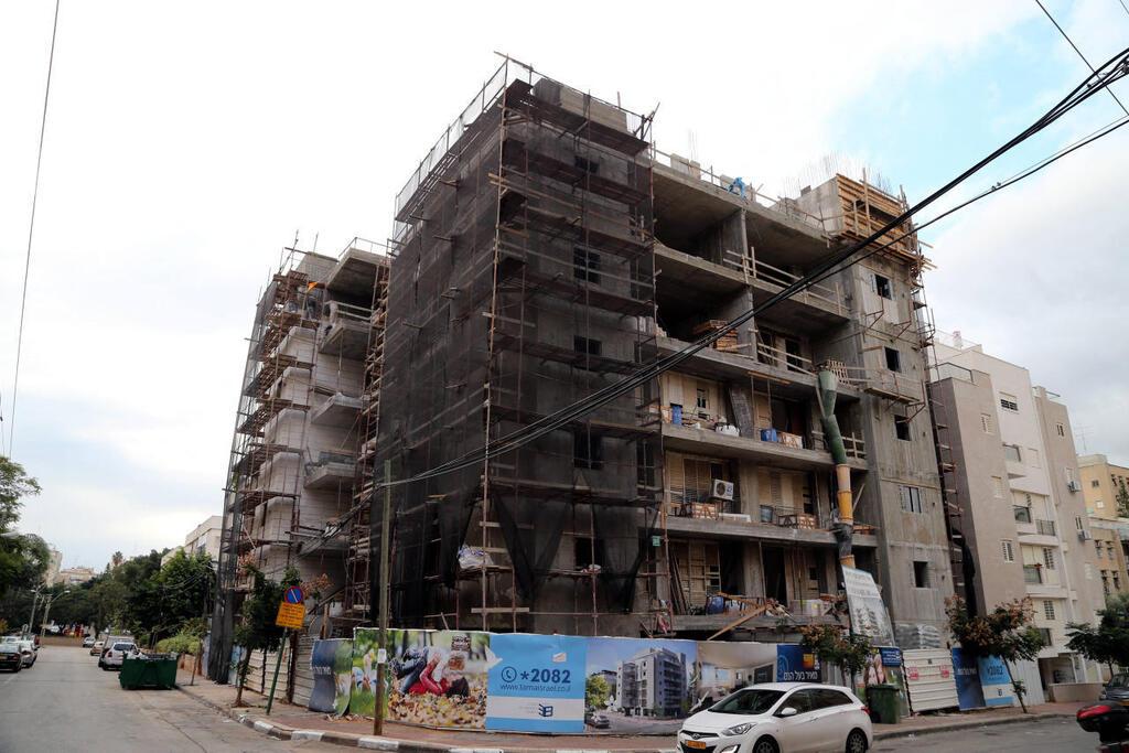 """בניין שבו מתבצע פרויקט תמ""""א 38"""