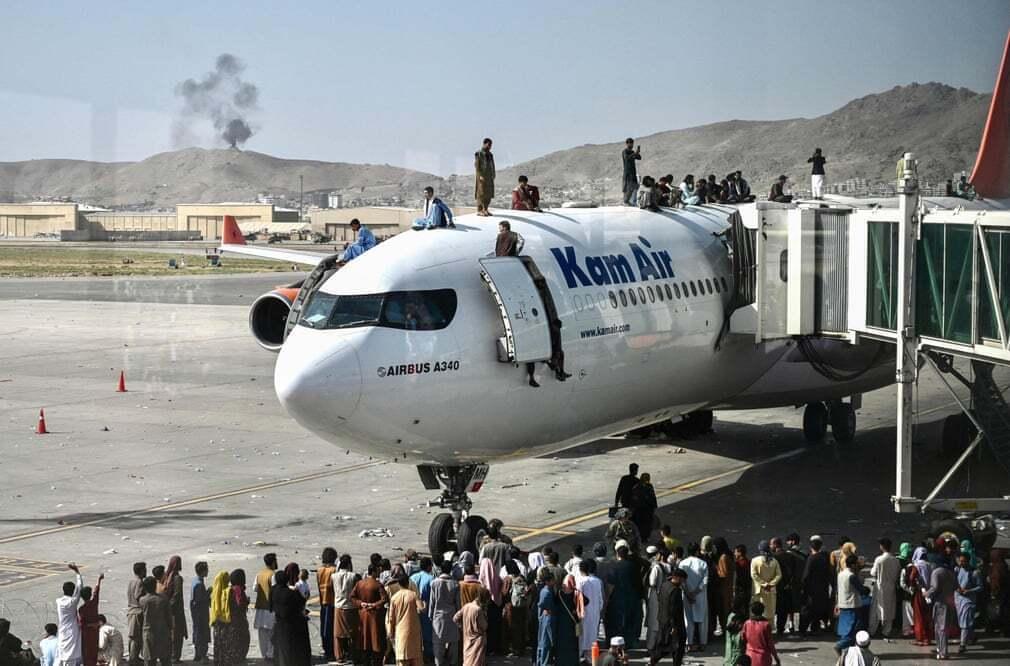 פוטו אפגניסטן טאליבן שדה תעופה מטוס