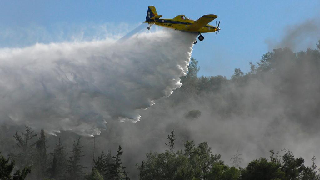 הקברניט מטוס כיבוי שריפה