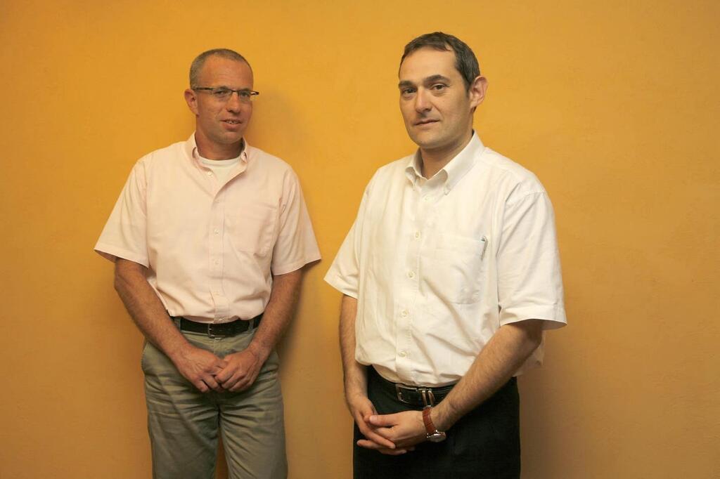 מייסדי איי-ספאק – גיל דויטש ורוני בירם