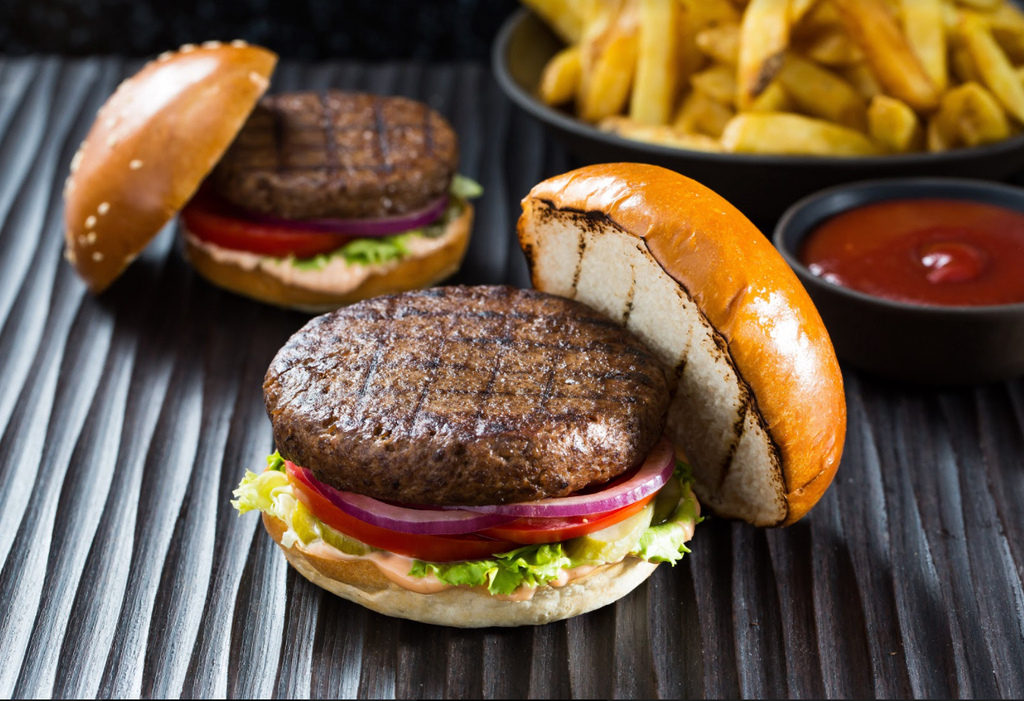 המבורגר של סבוריט תחליפי בשר
