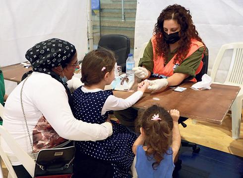 בדיקות סרולוגיות לילדים, צילום: דנה קופל