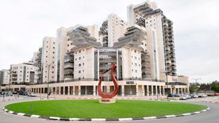 כיכר הנבל ב רחוב יעקוב כהן באר שבע, צילום: חיים הורנשטיין