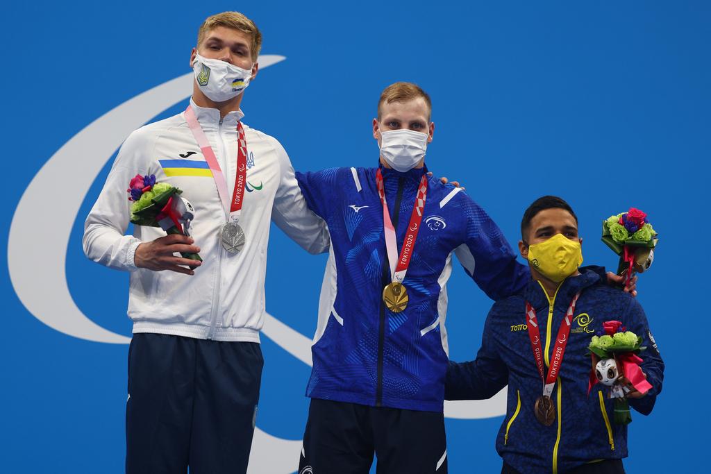 מארק מליאר מדליית זהב שיא עולם שחייה 200 מעורב אישי משחקים פראלימפיים טוקיו 2020