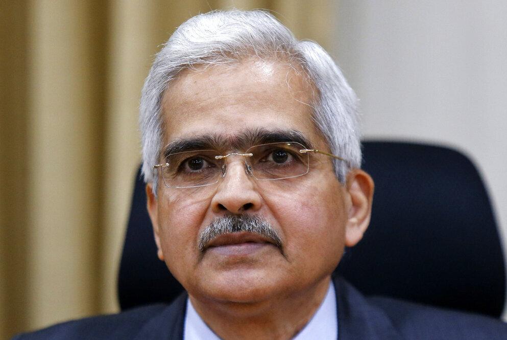 מושל הבנק המרכזי של הודו שקטיקנטה דאס