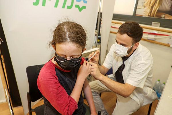 """חיסון נגד קורונה ספורטק פ""""ת  21.8.21"""