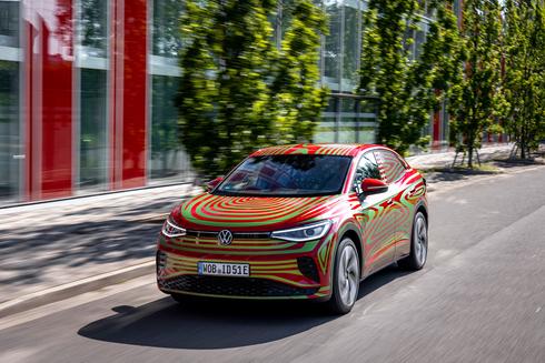 """פולקסווגן ID5 GTX. רכב כביש־שטח חשמלי עם טווח נסיעה עד 497 ק""""מ , פולקסווגן ID5 GTX. רכב כביש־שטח חשמלי עם טווח נסיעה עד 497 ק""""מ"""