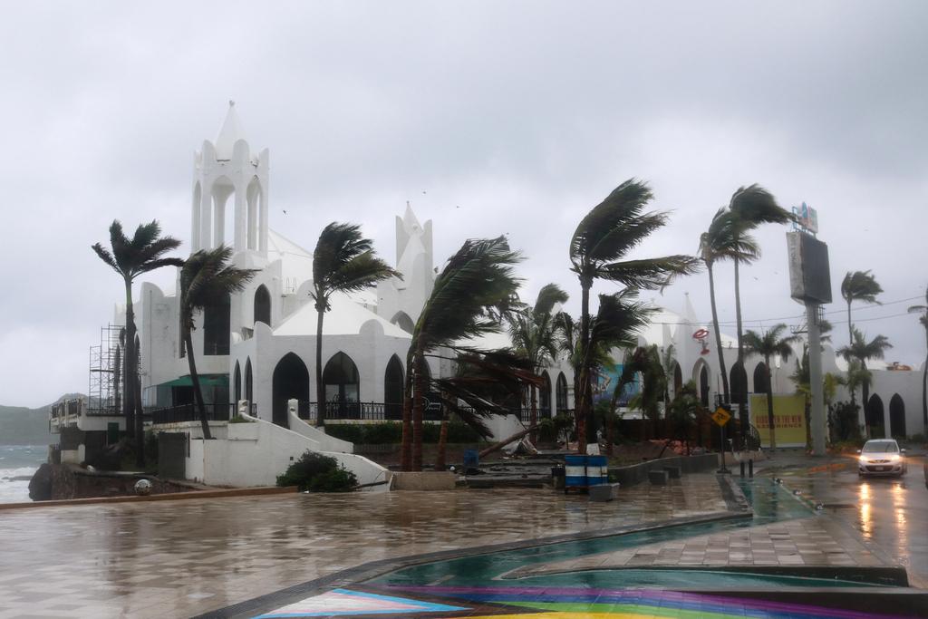 Hurricane Ida in the US